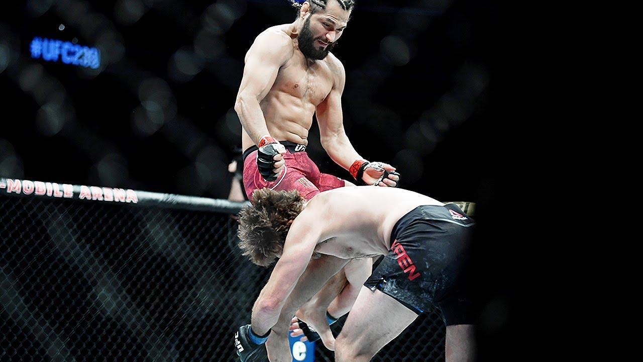 Полный бой Бен Аскрен - Хорхе Масвидал / Самый быстрый нокаут UFC / Слова после боя
