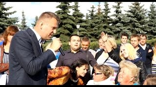 """""""Едь в Америку!"""" - Бурная реакция на Навального"""