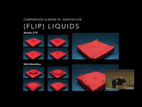 Next Generation Fluid Simulations with Mantaflow