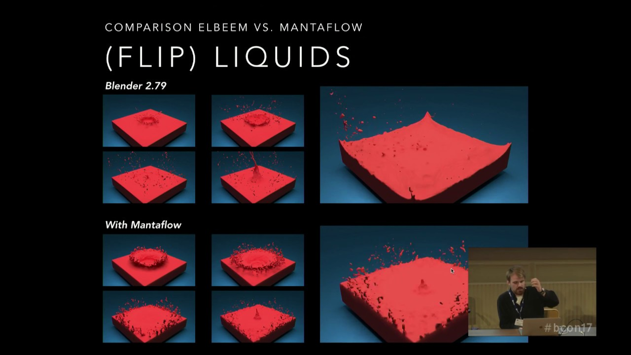 Next Generation Fluid Simulations with Mantaflow