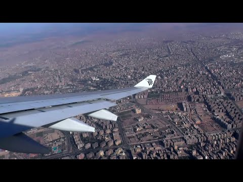 EGYPTAIR A330-300   CAIRO TO HEATHROW (MS777)   FULL FLIGHT