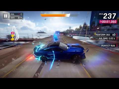 Asphalt 9  Legends : American Autos Bridge Finale   Shelby GTR 350R