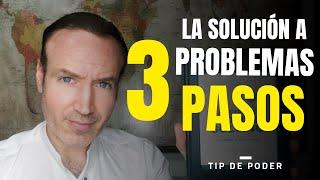 TECNICA DE 3 PASOS PARA RESOLVER PROBLEMAS (Enfoque Productividad Personal, Laboral y Empresarial)
