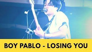 Boy Pablo  - Losing You Live at LOKATARA FEST 18