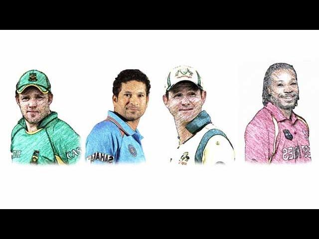 TOP 10 Batsmen with Most ODI Centuries