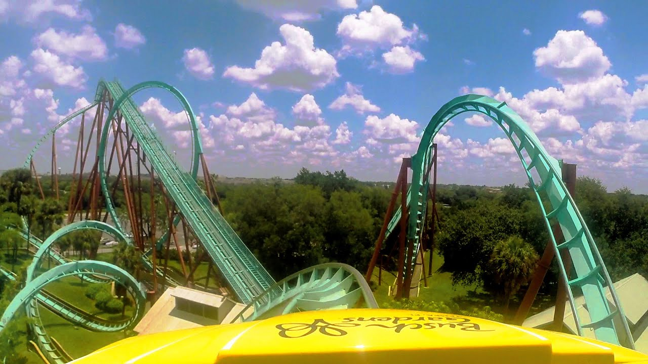 Kumba Front Seat On Ride HD POV @60fps Busch Gardens Tampa   YouTube