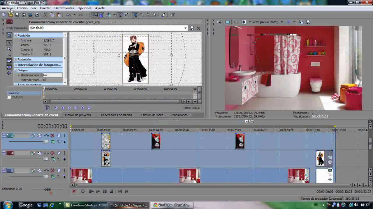 how to add cgi to video in sony vegas