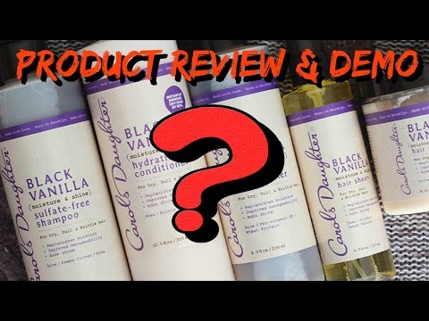 WARNING ‼️ CAROL'S DAUGHTER BLACK VANILLA LINE: PRODUCT REVIEW
