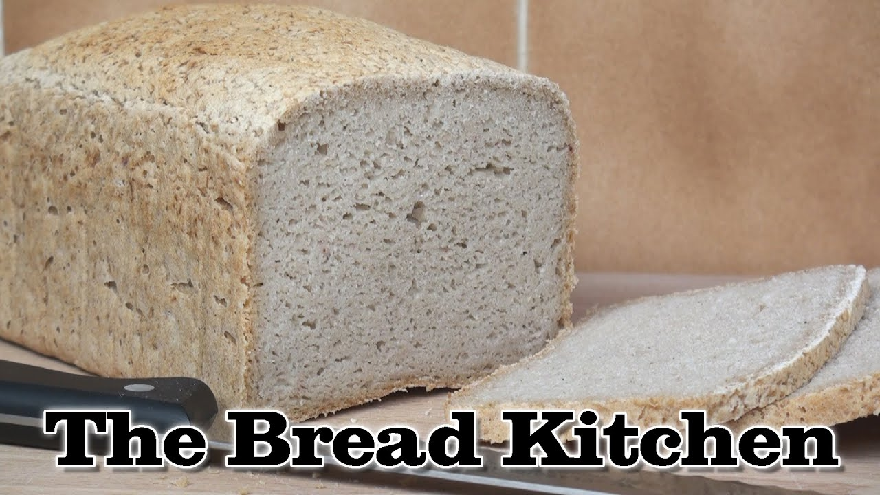 vegan gluten free bread recipe in the bread kitchen youtube