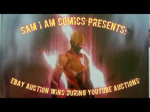 Just Another Comic Book Haul 23 Ebay Auction Wins During Youtube Auctions Youtube