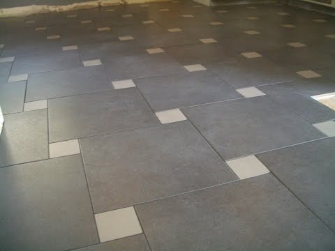 Great Ideas For Your Kitchen Floor Tile Designs - YouTube