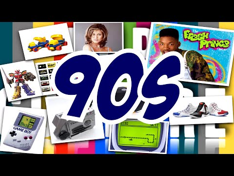 Top 20 Sneakers of the Decade: 1990′s - YouTube