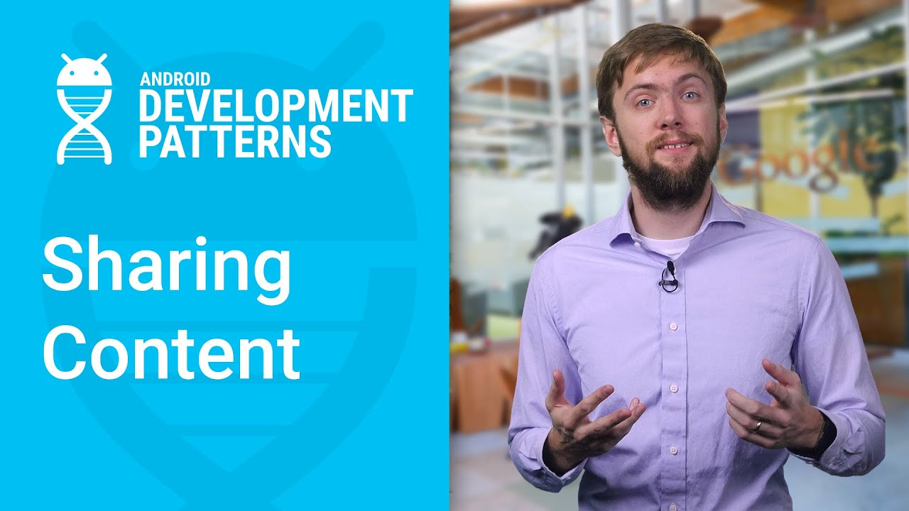 Sharing Content (Android Development Patterns S2 Ep 6)