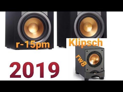 KLIPSCH R-15PM BOOKSHELF SPEAKERS & RW8 SUB 2.1 REVIEW CUSTOM BLUETOOTH VLOG HOME AUDIO OVERVIEW
