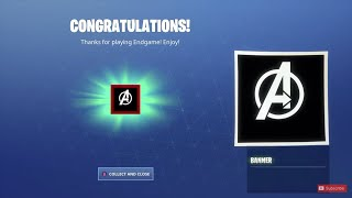 Rare Avengers Logo Banner Icon in Fortnite! [FREE]