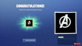 Rare Avengers Logo Banner Icône à Fortnite! [GRATUIT]