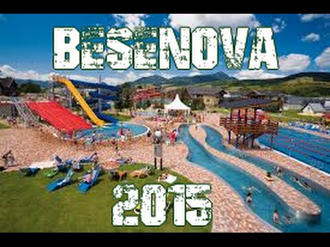 SLOVAKIA 2015 - Aquapark Bešeňová