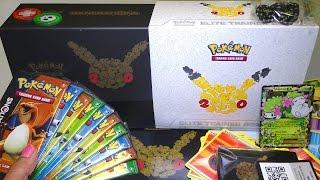 Opening: Pokemon TCG Generations Elite Trainer Box ~ 10 packs + Shaymin EX & 20th Anniversary stuff!