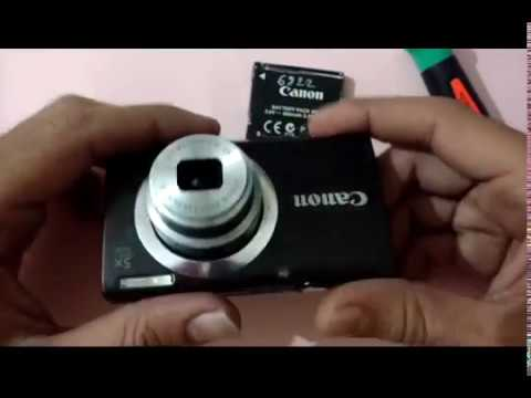 How To Repair Canon Powershot A2400 Lens Removing Part 1