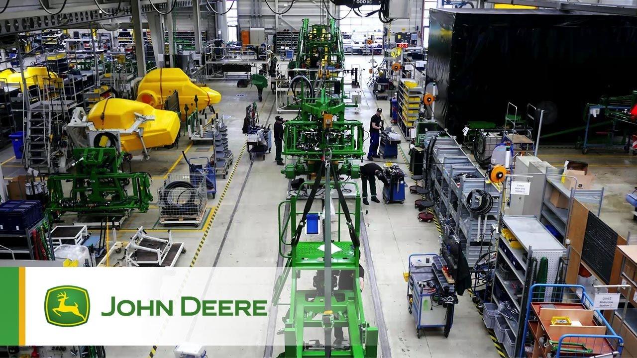 john deere sprayer factory in horst  netherlands