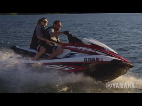 WaveRunner Yamaha 2017 de la série FX