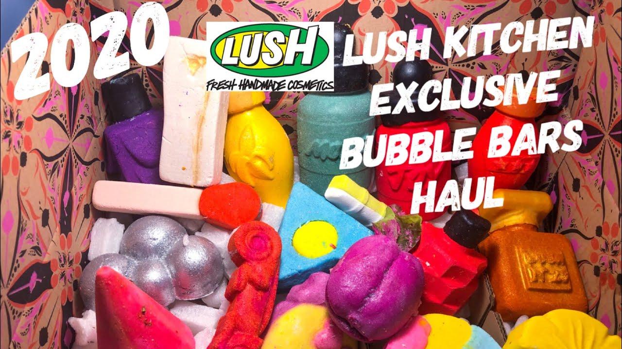 Lush Lush Kitchen Exclusive (Round 2) bubble bar Haul ...