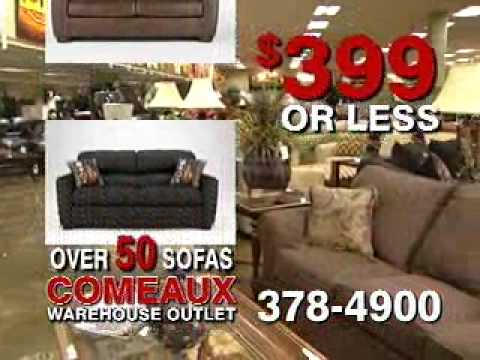 Sofa Sale At Comeaux Furniture Wmv Youtube