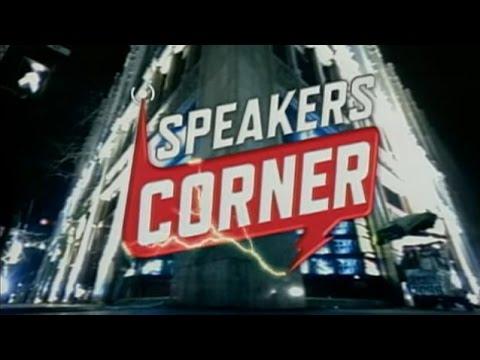 Speakers Corner - Celebrity Edition!