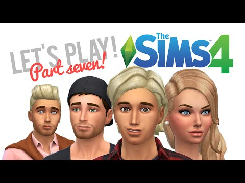 Let's Play The Sims 4 — Part 7 — Knocked up and moving in a gay couple!