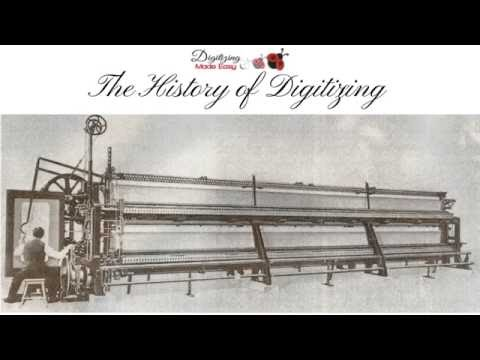 The History Of Digitizing Embroidery