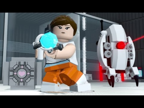 LEGO Dimensions - Chell Open World Free Roam...