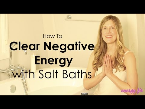 Elizabeth McGann - How To Clear Negative Energy - Salt Baths