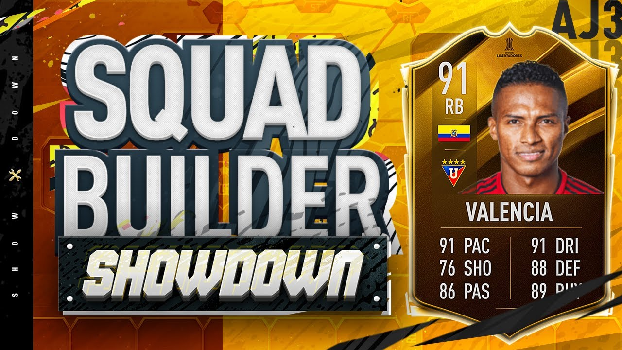 Fifa 20 Squad Builder Showdown!!! CONMEBOL VALENCIA!!! The Hardest SBSD EVER!!!