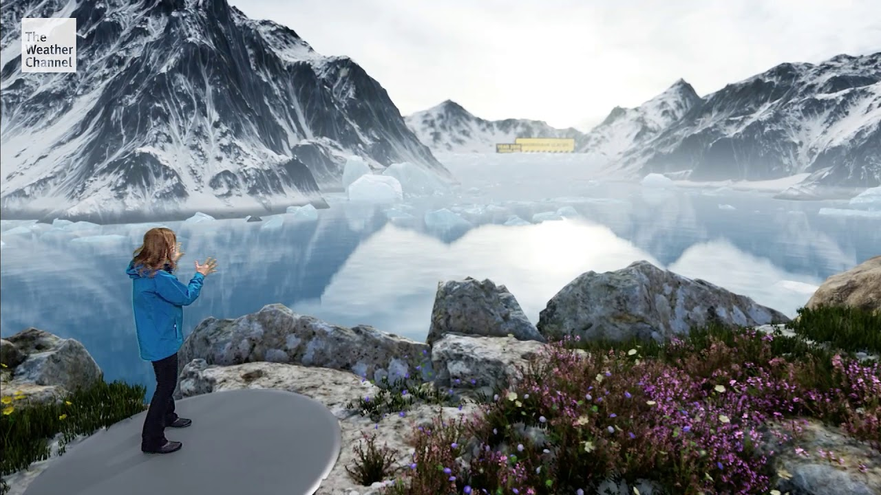 The Weather Channel Immersive Mixed Reality Climate Change