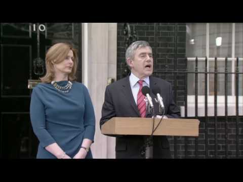 Gordon Brown resigns as Prime Minister