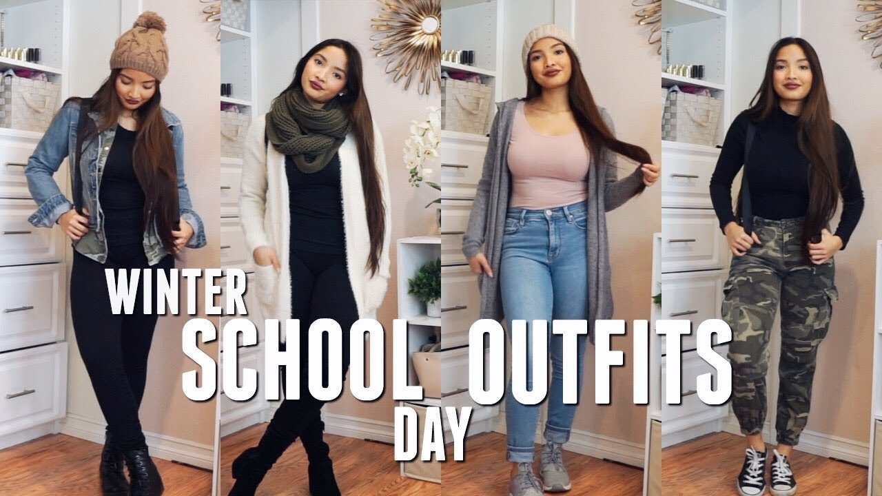 COLD WEATHER SCHOOL OUTFIT IDEAS 8
