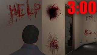 Никогда Не Заходите в Дом Майкла после Его Смерти в 3 Часа Ночи.. в GTA 5..