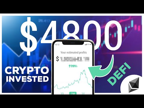 I Invested $4,800 into Cryptocurrency trying to earn Passive Income W/ DeFi