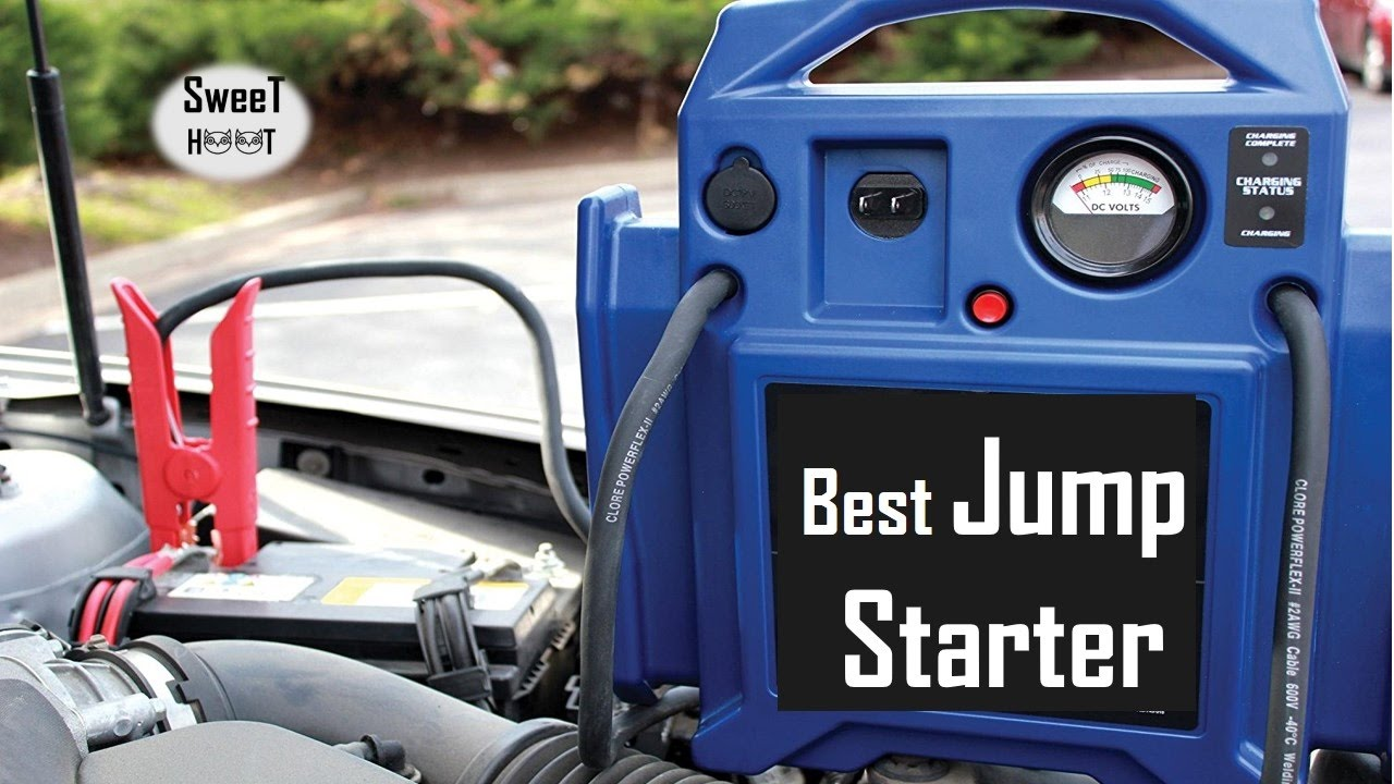 Best Jump Starters Car Jump Starter Reviews Youtube