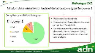 Webinar orienté Data Integrity - 20 septembre 2018