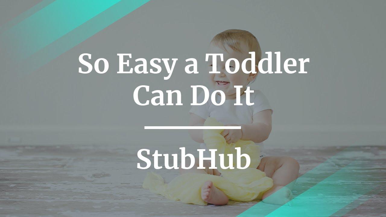 Webinar: So Easy a Toddler Can Do It by fmr StubHub Product Lead, Lauren Lee