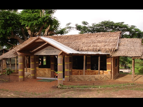 The Mosque Made with Heart in TOULEPLEU Camp, Ivory Coast