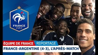 France: Les Bleus after their win against Argentina I FFF 2018