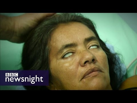 The creeping paralysis devastating Colombia - BBC Newsnight