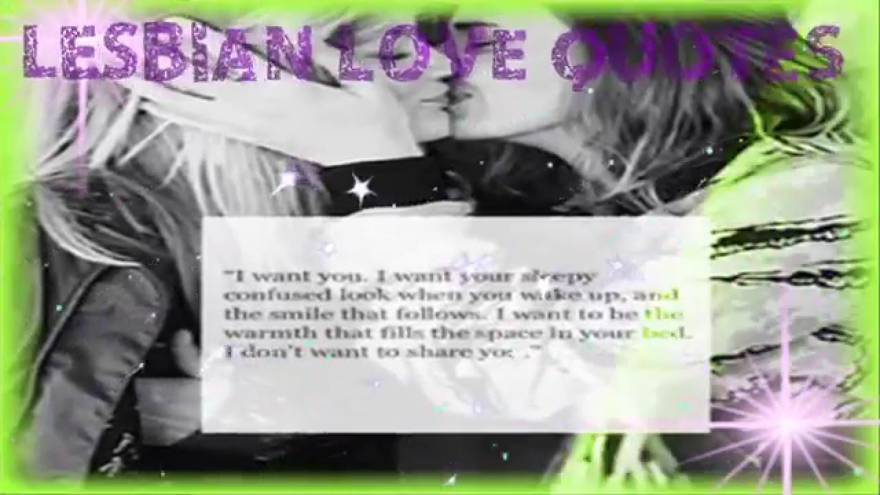 Lesbian Quotes   Best Lesbian Inspiring Love Quotes And Sayings   YouTube