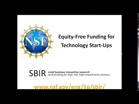 Succeeding at SBIR - NSF SBIR Program Overview - Peter Atherton