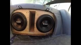 """2 custom 12""""  subs on a dd audio m4"""