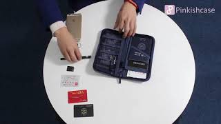 Tech Travel Passport Mobile Organizer Bag 169 ps