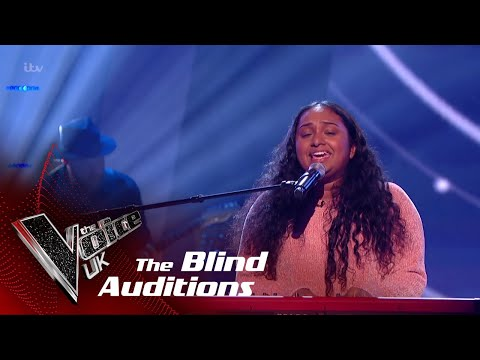 Gayatri Performs 'Powerful': Blind Auditions | The Voice UK 2018