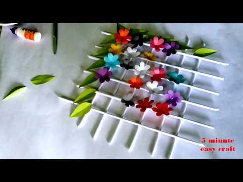 How to make paper craft paper wallmate  | kagojer wallmate banano 😍|